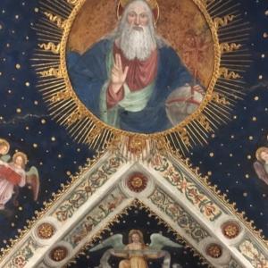 サン・マウリツィオ教会(Chiesa di San Maurizio al Monastero Maggiore):まるで万華鏡のように内装が美しい教会