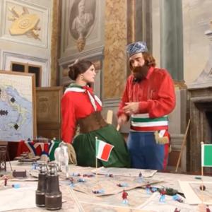 イタリアの三太郎?イタリアの大手携帯電話会社のCMから見るイタリアの歴史