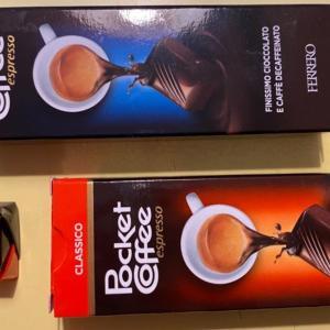 ポケットコーヒー(Pocket Coffee):決して齧ってはいけない、冬の訪れを告げるイタリアの名物チョコ