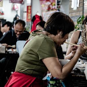 永楽市場の人びと (台湾)