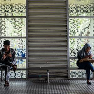 バス停のベンチ (インドネシア)