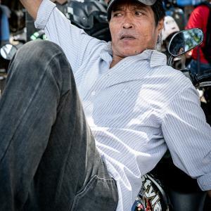 ジャカルタのバイクタクシー運転手 (インドネシア)