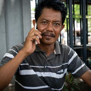 不機嫌な上司のような男 (インドネシア)