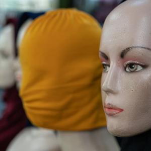 ヒジャブをかぶったマネキン (インドネシア)