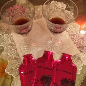 飲む美容液 ルーツー エキストラ・コラーゲンは美味しい!蔭の努力2
