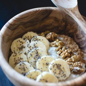 冷凍バナナヨーグルト