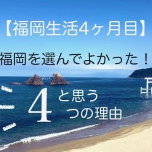 【福岡生活4ヶ月目】福岡を選んでよかったと思う理由4つ