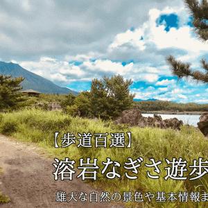 【遊歩道百選】溶岩なぎさ遊歩道の雄大な自然の景色や設備、基本情報まとめ!