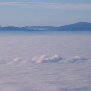 フォトムービー 雲海の写真をiMovieで作成しました