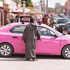 モロッコ版Grab Car【Careem】は使えない?!プチ・タクシーとグラン・タクシーの違い