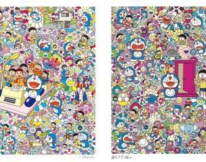 【11月16日発売】村上隆 ドラえもんコラボレーション版画~タイムマシンで何処までも~