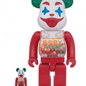 MY FIRST BE@RBRICK B@BY Jester Ver.100% & 400% / 1000%