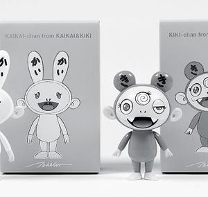 カイカイ&キキ PVCフィギュア(Black&White ver.)cherry限定バージョン