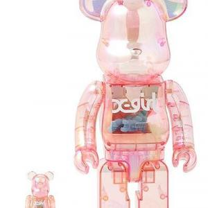 BE@RBRICK X-girl 2020 100% & 400%/1000%