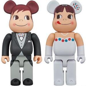 BE@RBRICK ウェディング ペコちゃん & ポコちゃん 400%