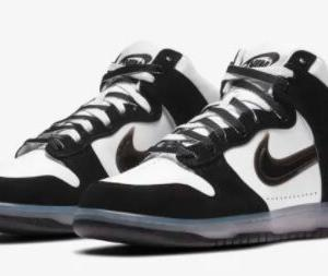 "SLAM JAM x NIKE DUNK HIGH ""CLEAR BLACK"""