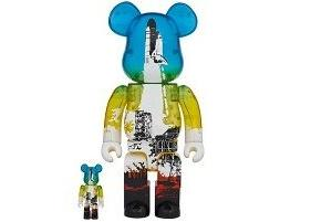 SPACE SHUTTLE BE@RBRICK LAUNCH Ver. 100% & 400%