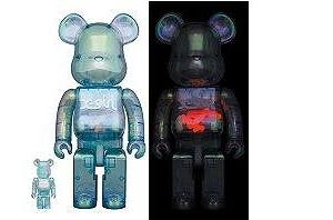 BE@RBRICK X-girl 2021 100% & 400%/1000%