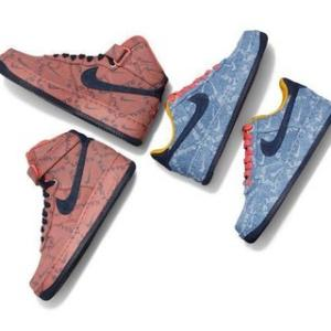 NIKE x LEVIS AIR FORCE 1 HIGH & LOW