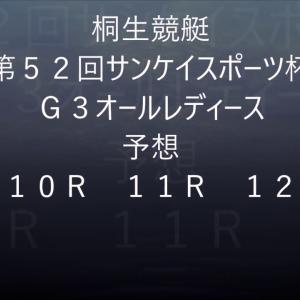 【競艇予想】【競艇】第52回サンケイスポーツ杯・G3 オールレディース【桐生競艇】
