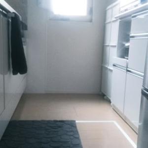キッチンマットとキッチン用洗剤の置き場所