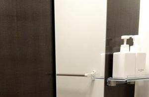 浴室の水垢掃除
