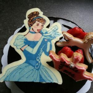 昭和なプリンセスケーキ