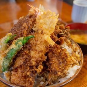 【稲荷町】江戸前天丼発祥の地で食べる「天三」の天丼がコスパ良し