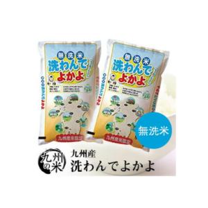(令和元年産新米)【無洗米】 洗わんでよかよ5kg×2袋【10kg】  価格:4280円(税込、送料無料)