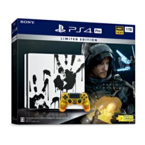 【期間限定価格】PlayStation 4 Pro DEATH STRANDING LIMITED EDITION ソニー・インタラクティブエンタテインメント 価格:49478円(税込、送料無料)