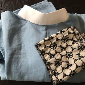 kimono modernさんの半衿を麻襦袢に