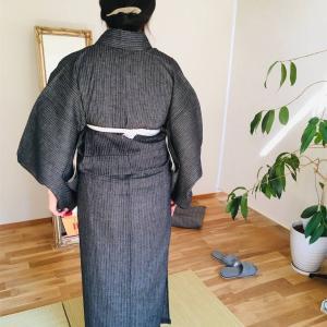 【教室】半幅帯&名古屋帯コース3回目、と着物相談