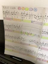 子供のために紅蓮華の楽譜を自作した話