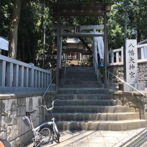【大阪】上土室町にある八幡大神宮の狛犬さん