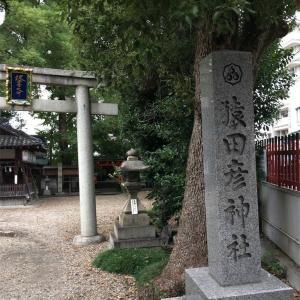 【京都】猿田彦神社の木々