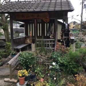 【京都】白石神社で、太鼓の音にみかんのお土産