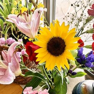 お花。夏らしく
