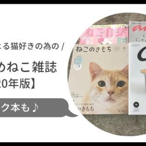 猫 雑誌 2020 おすすめ付録や定期購読は?