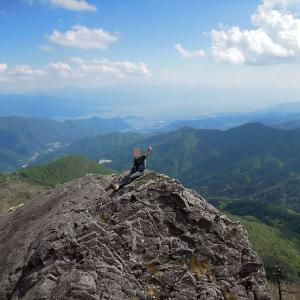 【日帰り登山】乾徳山(徳和から往復)