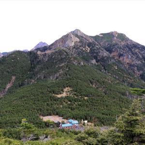 【日帰り登山】編笠山・権現岳(観音平から周回)