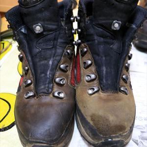 【登山道具】登山靴のお手入れ方法 (全革、部分革)