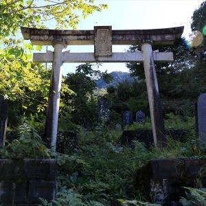 御嶽山 1日目(黒沢里宮→油木美林遊歩道→百間滝展望台)