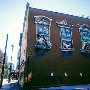 ・アメリカ・街のあちこちにある巨大壁画たち!シンシナティ③