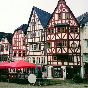・ドイツ・伝統的なドイツのお家たち♪フランクフルト⑤