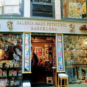 ・スペイン・お土産が買えるアートギャラリー♪バルセロナ㊸