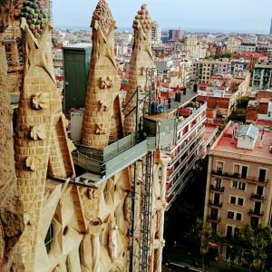・スペイン・サグラダファミリアの塔に登ってみたら?バルセロナ⑨