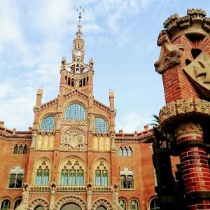 ・スペイン・まるで豪邸?!世界遺産のサン・パウ病院!バルセロナ㊱
