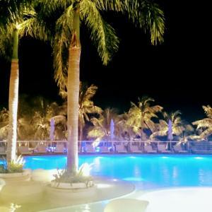 ・フィリピン・ホテルのお得なデイユースと幻想的なプール〈夜〉セブ③