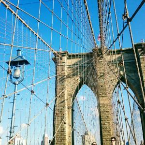 ・アメリカ・一度は歩きたいブルックリン ブリッジ!ニューヨーク③