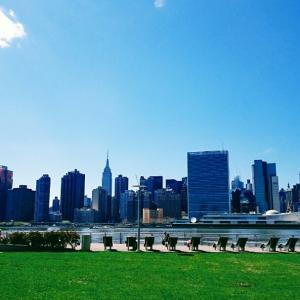 ・アメリカ・マンハッタンを眺めるのにオススメの公園♪ニューヨーク⑱
